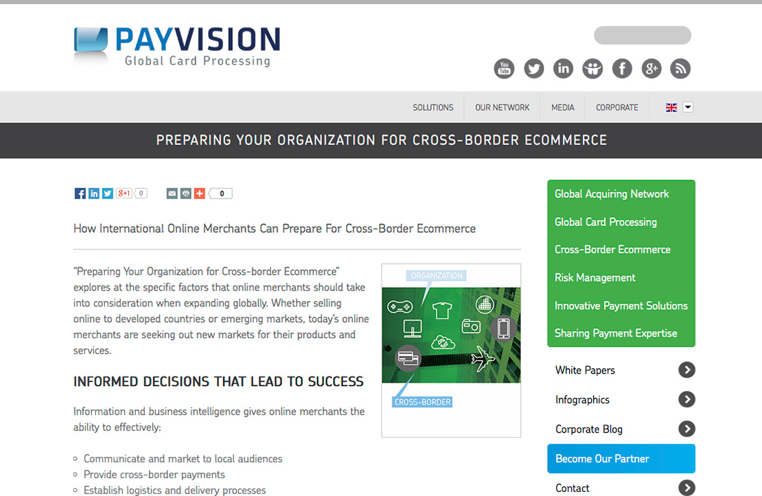 payvision website ontwerp webdesign